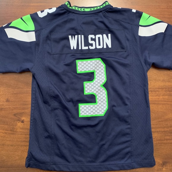 Youth size M Russell Wilson Seahawks jersey